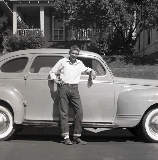 Bob and His Volvo PV | ca 1952 en wikipedia org/wiki/Volvo_P