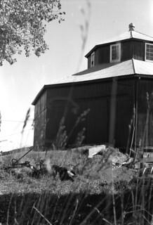 Octogonal Barn and Plow