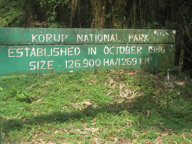 Korup park