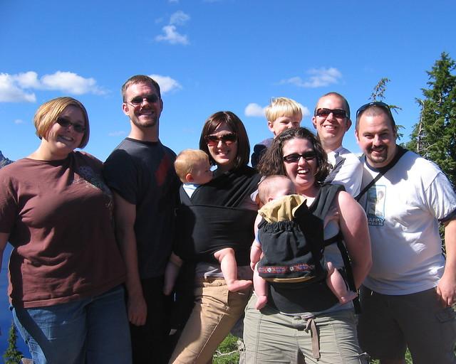 Group Shot at Crater Lake