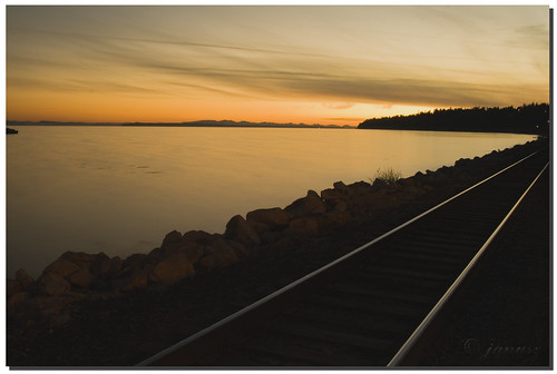 railroad travel sunset canada west beautiful train vintage geotagged evening bravo exposure bc britishcolumbia rail railway civilization whiterock capture westcoast breathtaking supernatural kanada traveler janusz leszczynski beautifulcapture mywinner abigfave worldbest ontherighttrack anawesomeshot superbmasterpiece diamondclassphotographe superhearts onlythebestare excapture geo:lat=49021126 geo:lon=12280612