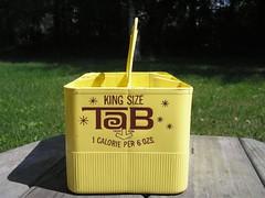 Vintage holder for 16oz bottles of TaB | by ILoveTaB