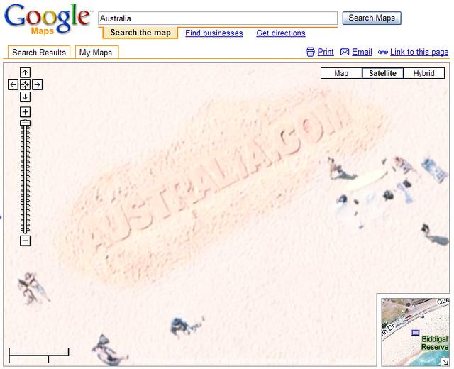 Google Map Of Australia.Australia Com In Google Maps Www Australia Com Paid Sand S Flickr