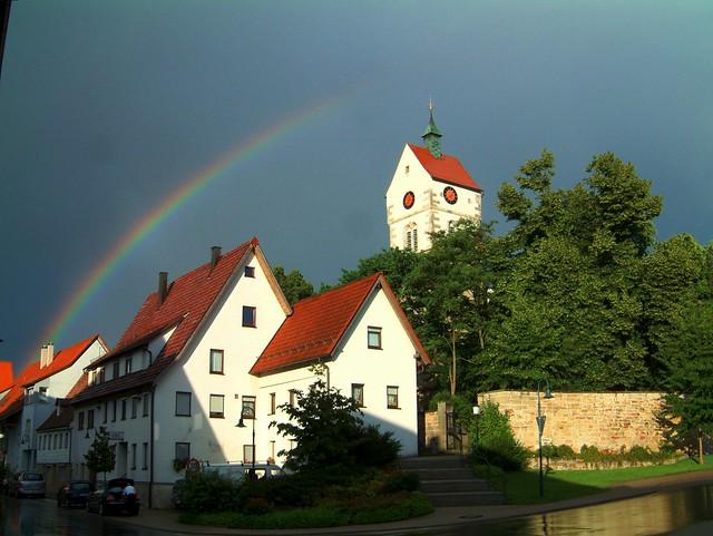 Rainbow Bondorf HDR