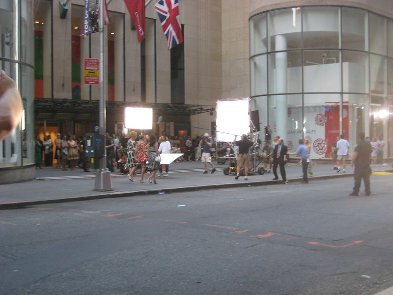 Sex and the City Movie Shoot