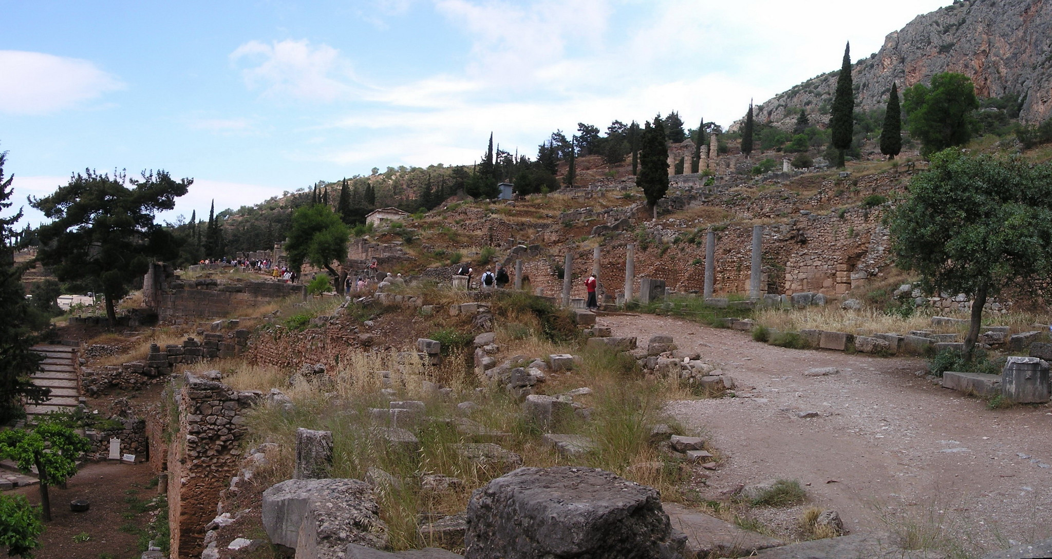 Grecia Oraculo de Delfos Monumento espartano a Egospotamos