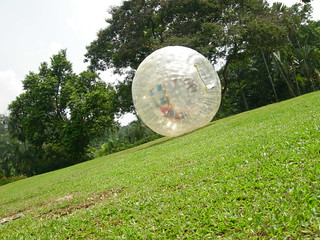 Zorbing ball ride in Malaysia | by Steven Kiyoda