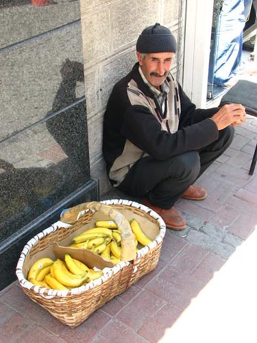 Banana seller | by Efe Arat