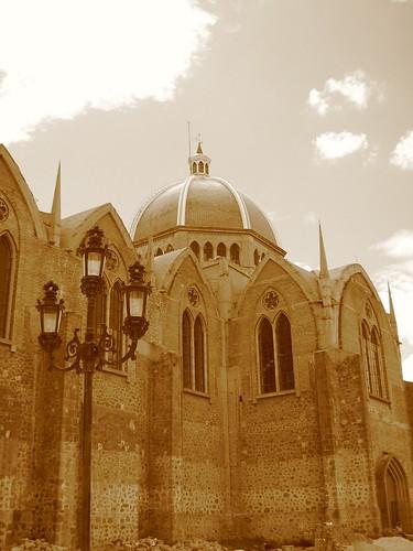 Hacia la catedral...