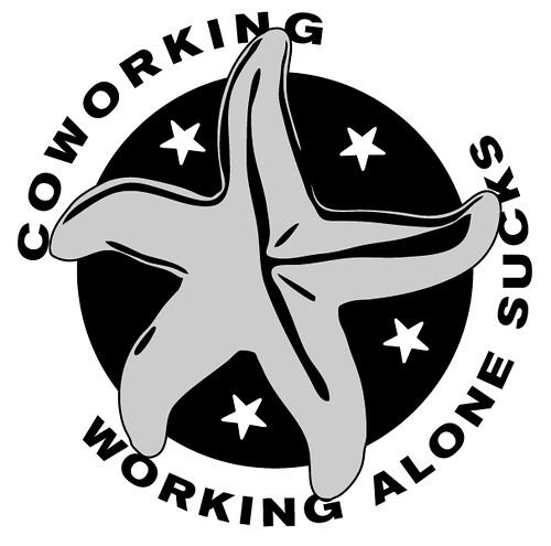 Coworking - Working Alone Sucks   by factoryjoe