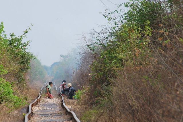 Bamboo Train line locals