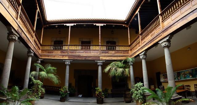 Museo Casa Colon patio interior barrio de Vegueta Las Palmas de Gran Canaria 11