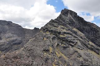 Sgurr Dubh Mor from the Dubh Ridge