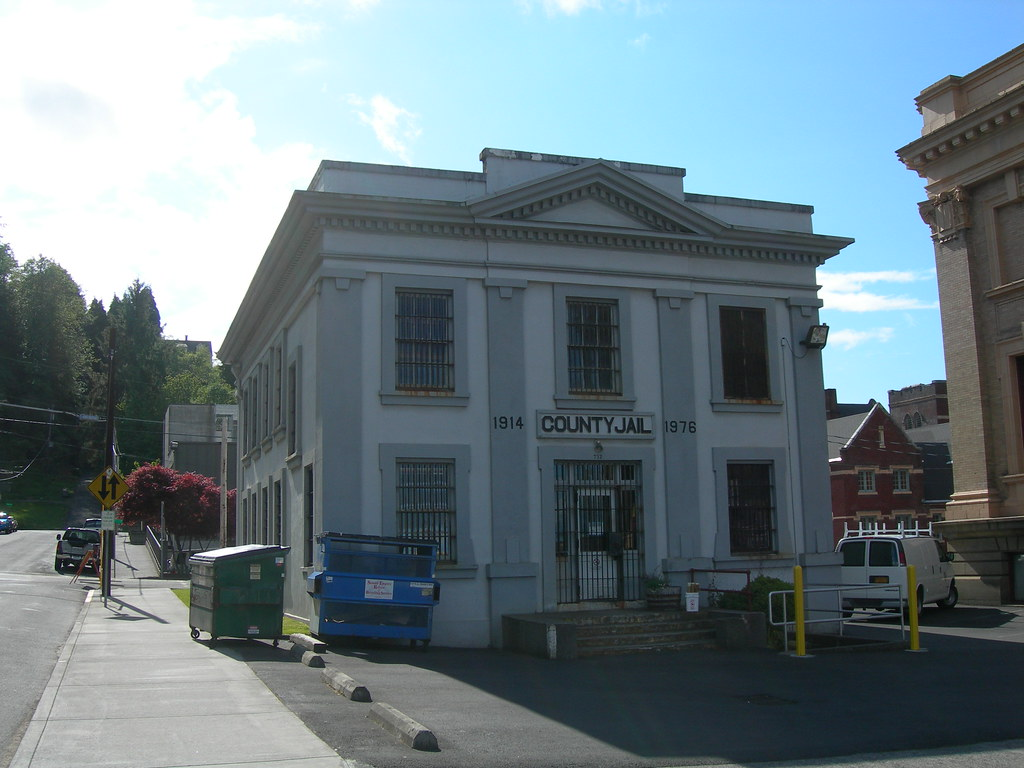 Old) Clatsop County Jail   Astoria, Oregon Served from 1914