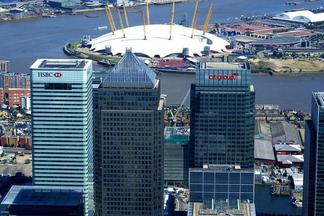 The Establishing Shot: LONDON FROM THE AIR - HSBC WORLD HE
