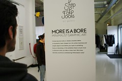 'more is a bore' exhibition at Ship of Fools