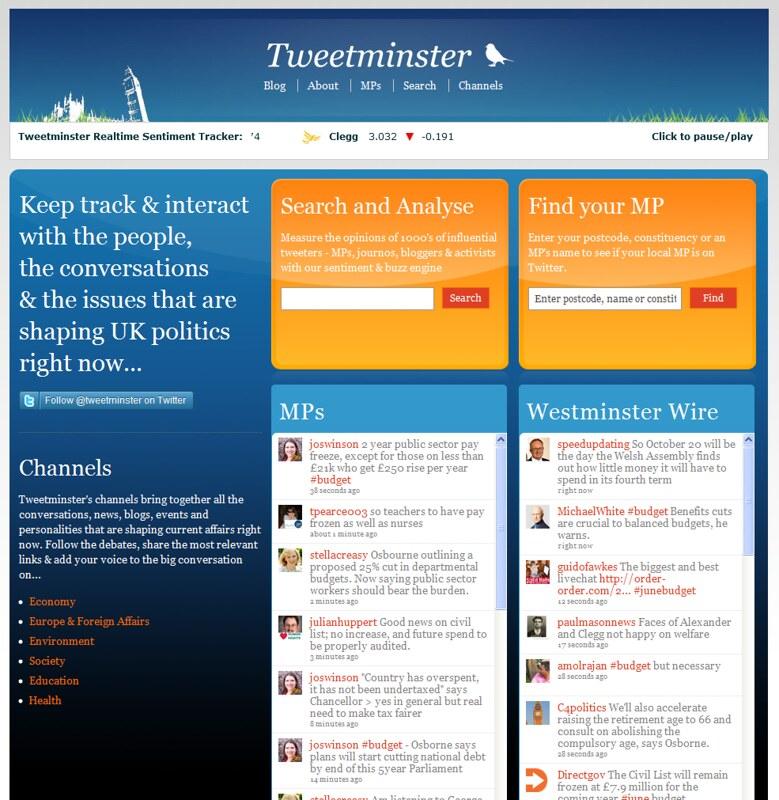 Tweetminster