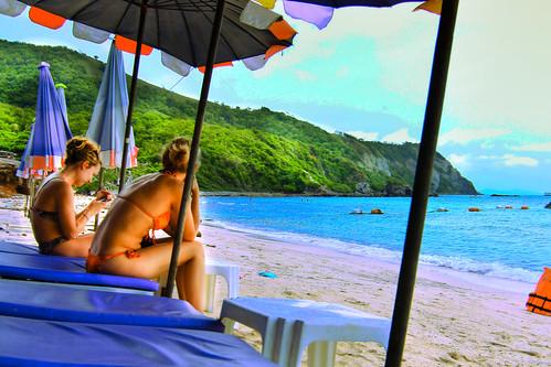 Beach girls   by Travellers Travel Photobook