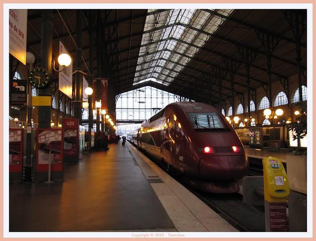 Paris Gare du Nord - Le Thalys