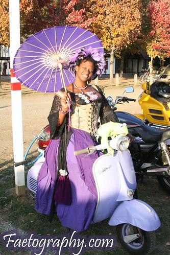 """IMG_9945a   1965 Lavender """"Large Frame"""" Vespa 150 ..."""