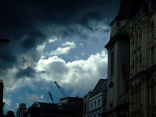 Dark sky over Blackfriars | by poolski