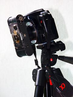 Vest Pocket Kodak attached to Sony DSLR-A100 | by Arkku