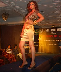 Sun, 07/22/2007 - 09:53 - Models walks down the ramp during a fashion show 'Colours of Life' in Guwahati on Sunday night.                                                                         Photo by- Manab Jyoti.