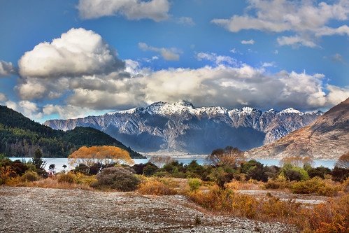 'The Remarkables', New Zealand, Queenstown, The Remarkables | by WanderingtheWorld (www.ChrisFord.com)