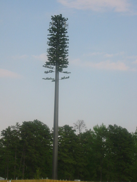 disguised cell phone tower | Wendy House | Flickr