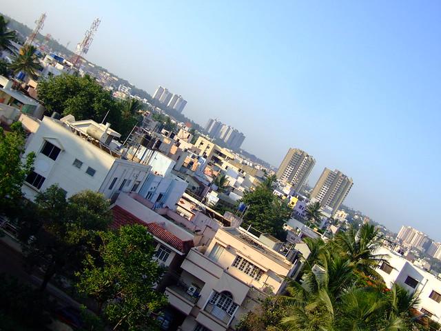 JP Nagar, Bangalore Skyline