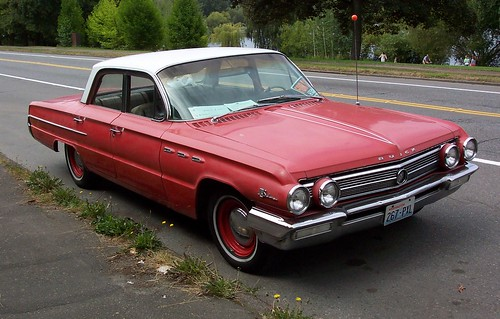 1962 Buick on the street