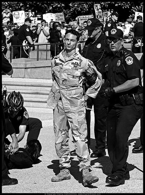 Mike Prysner Arrested