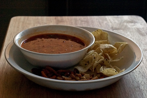 Tortiyum soup - Mexican gets jiggy with Thai   by DeathByBokeh