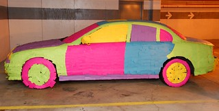 The Post-It Note Jaguar (covered with sticky notes) | by Scott Ableman