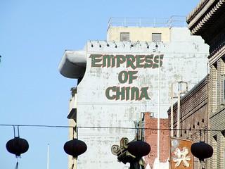 Empress of China @ San Francisco, California