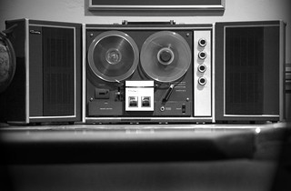reel to reel (bw) | by donovanhouse