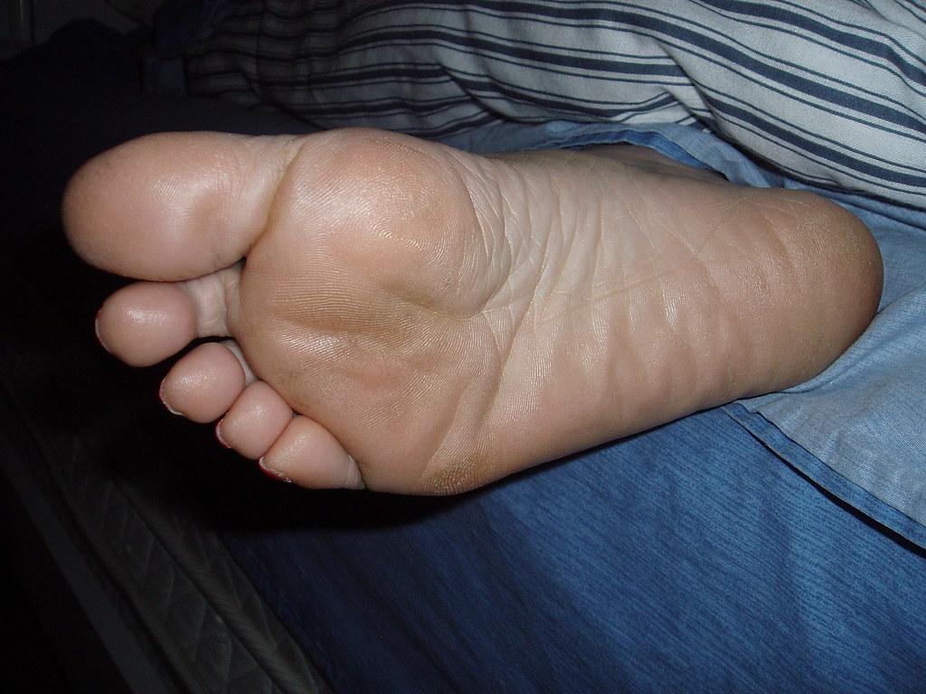 Her Sleepy Foot