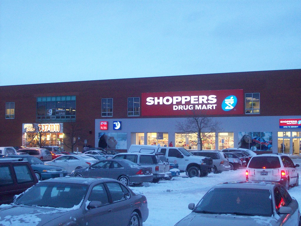 The Shoppers Drug Mart at Merivale Mall. | This super-pharma… | Flickr