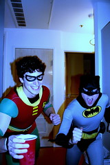 batman & robin or my two roommates? | by klick175