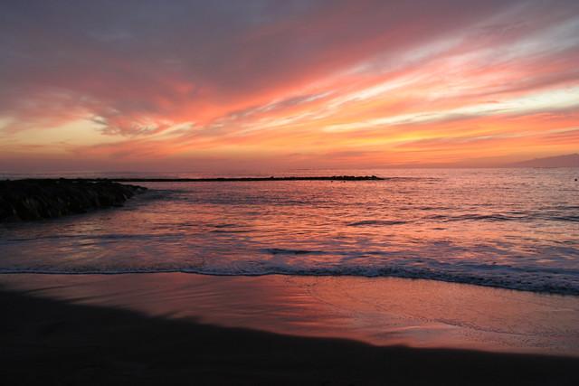 Fanabe Beach sunset E