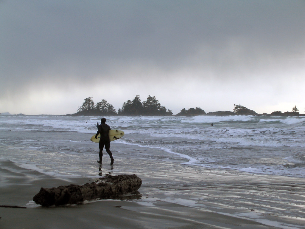 Surfer on Chesterman Beach | Ruth Hartnup | Flickr