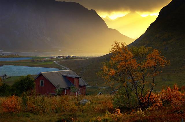 Vareidet, Flakstad Island