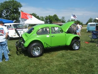 Vw Jacked Up Beetle Matt Bailey Flickr