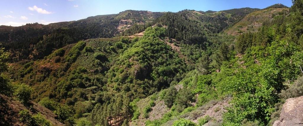 Barranco de la Virgen senderismo isla de Gran Canaria 06