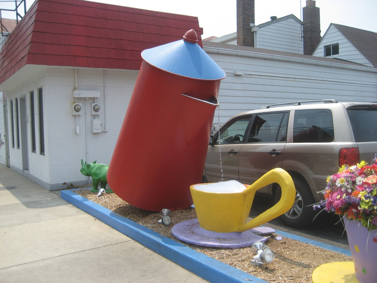 Giant Coffee Pot