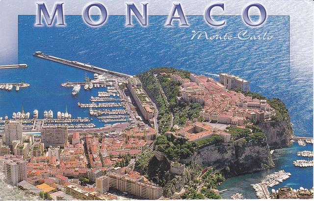 Monaco, Monte Carlo Postcard