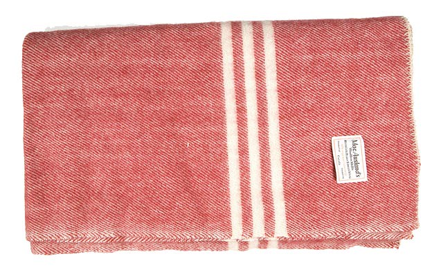 MacAusland's Blanket--Red