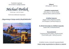 2010. június 25. 14:05 - Michael Perlick: Magyarország és Európa színek és fények bódulatában