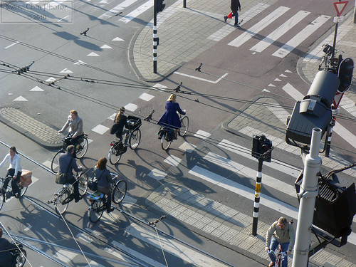 Morning Rush Hour Amsterdam-Style | by Can Pac Swire