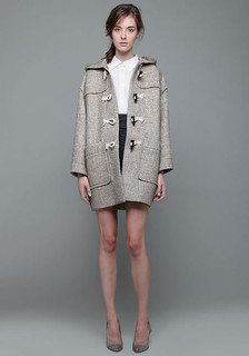 carven tweed toggle coat. | by gracefullady